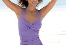 Swimwear / Our selection of flattering women's swimwear has the best items of the season. Our affordable beachwear includes tummy-control swimsuits, and tankinis, plus cover-ups and bathing suites with ruching to flatter in all the right places. Many styles in our women's swimwear collection are available in misses, petite, tall, and plus sizes.