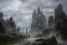Landscapes Concept art