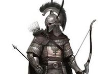 Armours and blades