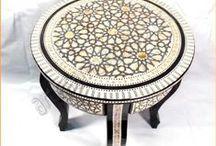 ARTESANÍA ÁRABE / Artículos artesanos árabes