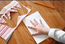 Kreativ med børn / Lav kreative ting med børn