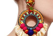 Ethno-Chic Earrings / Ethnic earrings and designs from around the world. Be inspired by the diversity of style captured from around the globe.