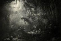 Dark Art / Dark Artworks, digital Art & paintings