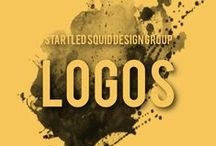 Startled Squid Logos / - Logo designs by Startled Squid Design Group Our logos reflect the values and services of the companies they represent.  We specialise in quirky representations, and also in integrating custom artwork into symbolic logo designs.