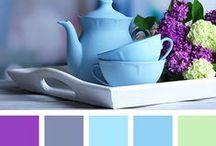 Colour Palettes / A collection of perfect colour palette pins.