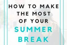 Summer Vacation / What do you do during your summer break away from Asbury University? Check out these pins for a couple of ideas! / by Asbury University