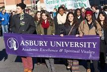 Asbury University / Pins dedicated to Asbury University and the culture it represents. Asbury is located in Wilmore, Kentucky.