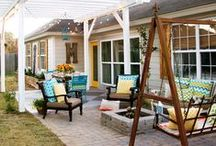 garden & patio / Inspiration for our own garden, patio and backyard!!!