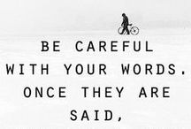 Just say it... / Quotes