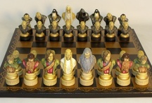Chess Sets - Boards / Excellent resource for chess sets - chess boards - chess pieces: www.thegamesupply.com  #chess  / by Ron Smart