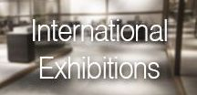 International Exhibitions / Inalco is present in the most important fairs around the world, focusing in events centered in design and innovation.
