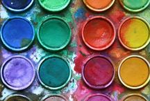 COLORs = happy place ♥ / A collection of fun COLORFUL photos that make me happy.