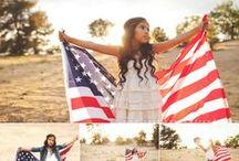 Patriotic Portrait | Photography / American. Patriotic. USA. Portrait Photography.