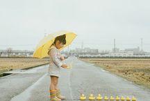 Rainy day ☂ 雨の日 ☔ / ☂ umbrella ☔ 雨の日には傘とデートしよう... Let's date with an umbrella on a rainy day ...