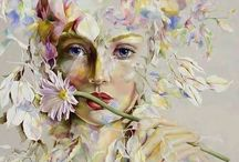 Beautiful ART✍芸術的な美 / ✍ art inspiration ✍ graphic..digital..drow..paint..picture ...