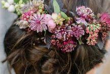 Fascinators / tocados, tiaras, coronas de flores