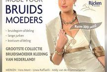 Bruidsjurk kort / Kleding Bruidsmoeder. Mother of the bride.