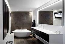 Идеи для ванной комнаты / Именно в таком стиле мне нравятся ванные комнаты. Сюда собираю понравившиеся идеи