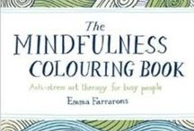 Zen Brain Coloring / Healing my brain and learning the art of meditation through coloring. #trauma #braininjury #health