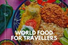 Food for World travellers / What to eat when you're travelling. The best restaurant guides, food based trip itineraries, and the best street food by destination! Foodie travel, what and where to eat as you travel.