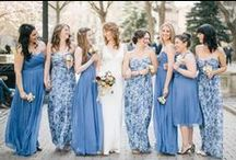 Printed/Floral Bridesmaid Dresses