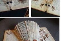 Book Art / Art made of Books