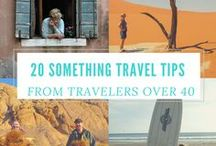 Over 40's and Baby Boomer Travel / We may be too old for Contiki and the like but we share the ideals of these other inspirational travellers over 40. Find new inspiration because none of us are content to sit around and just get old.