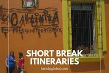 Short Break Itineraries / Sometimes you need to pack as much as possible into just a few days. Check out this collection of suggestions for your short breaks.