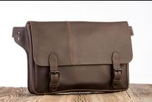 Leather Intrepid Bags / Handmade full grain adventure ready Leather bags designed & produced by Intrepid Bag Co.