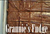 Fudge & Candies / by Granny Cox