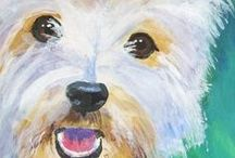 Dogs that are just too cute / The wonder of dogs / by Maxine Ann Harvison