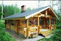 Cabanas & Casas de tronco