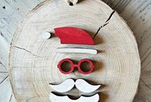 christmas! / wooden decoration!