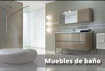 Muebles cuarto de baño / Una gran selección de muebles, adecuado a todo tipo de cuartos de baño.