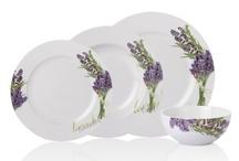 Lavender Serisi / Sofralarınızda lavanta kokularıyla güzel davetler verebilirsiniz