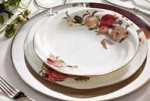 Rose Garden Yemek Takımı / Bernardo'nun en güzel yemek takımlarından biri ile sofralarınız çiçek açsın