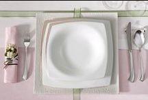 Absolute Platinum Yemek Takımı / Bernardo'nun bu güzel takımıyla sofralarınız daha şık ve çekici