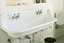 Baños Vintage / #bañodetussueños , propuestas que os hace JrSink para diseños de cuartos de baño Vintage.