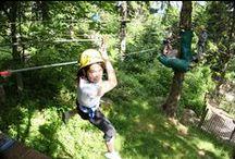 Aventures et sensations en Alsace / Parcs acrobatiques,  escalade, sports aériens… l'Alsace est tout sauf ennuyeuse ! Elle est le terrain de jeux favori de ceux qui aiment bouger.