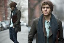 Men's fashion / A collection of stylish ensembles for men