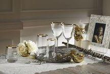 Gourmet Bardak Takımı / Gourmet altın ve platin bardak takımlarıyla misafirlerinizin gözleri kamaşacak