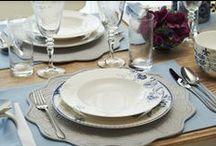 Vintage Blue Yemek Takımı / Vintage Blue yemek takımı / Vintage Blue dinnerware set #bernardo #porselen #bonechina #porcelain #vintageblue #yemektakimi #dinnerware