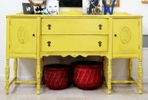 Vintage furniture, Vintage home