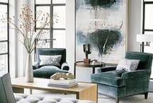 DECO / budget or splurge ideas to make a house your home.