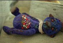 Dolls from fabrics / lalki z tkanin