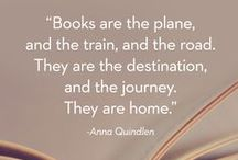 Quotes: Books and Reading / Book Quotes and Reading Quotes that inspire us and make us laugh.   Sharing literacy quotes encourages a love of KidLit!