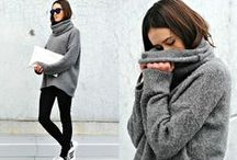 style like a dream ♥ / I love cozy, comfortable and a little bit rock clothes! I have to feel good in them ;)