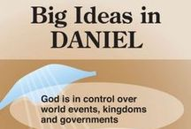 Bible Study: Daniel / Studying the Book of Daniel with kids? This is for you!