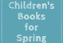 Spring Books and Activities for Kids / Spring Resources for children's literacy including spring reading activities and spring book lists for parents, teachers and librarians. Celebrate Spring with these fall reading lesson plan ideas. For more ideas visit KidLit.TV