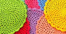 Crochet - Placemats and Coasters